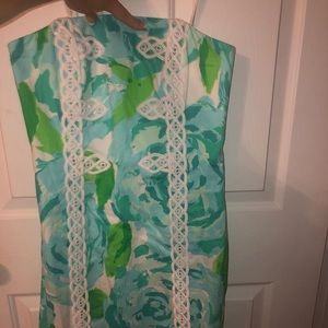 NWT Lilly Pulitzer Strapless Dress